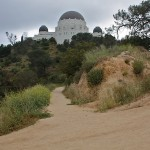 Hiking at Griffith Park Observatory