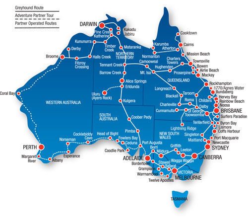 Best Route To Travel Around Australia
