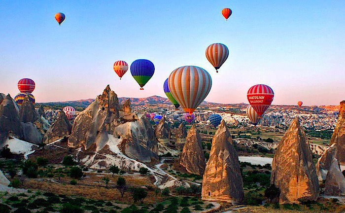 Image result for hot air balloon cappadocia