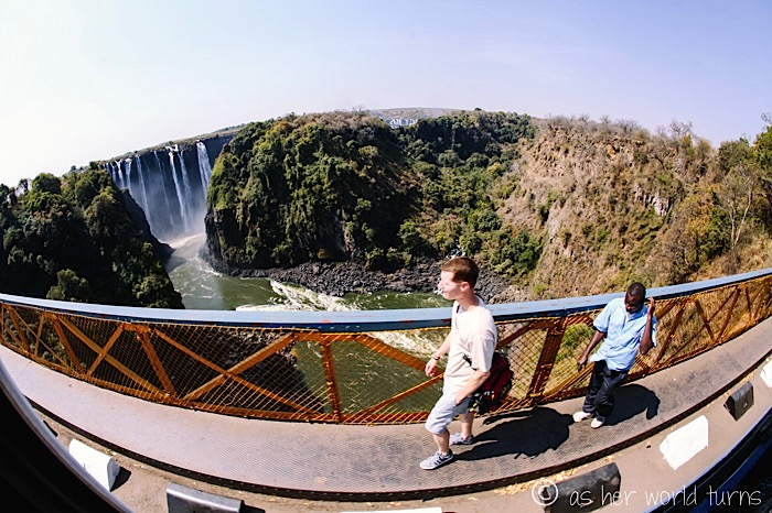Victoria Falls And Then Gets Back Up Again As Her World