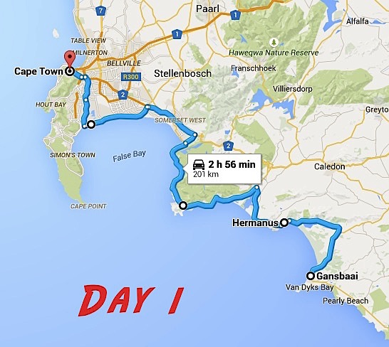 The Perfect Garden Route Itinerary As Her World Turns