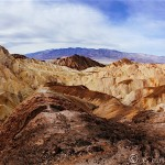 Hiking Golden Canyon in Death Valley