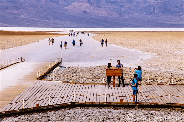 badwater basin the lowest point in north america as her world turns