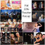 Fall 2016 Theater Recap