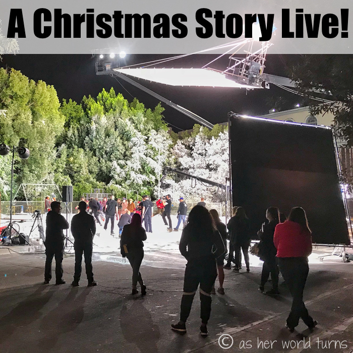 Behind the Scenes: A Christmas Story Live!   As Her World Turns