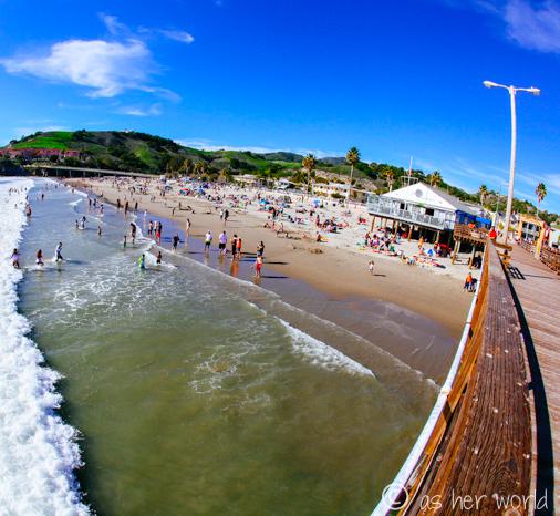 Checking Out Avila Beach Ca