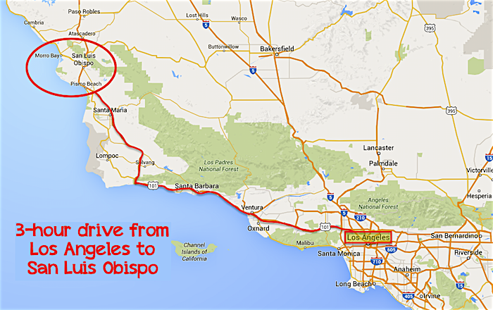 Today I Ll Write About Our First Stop In Avila Beach Here S A Shot Of Ride Up The 101 From La